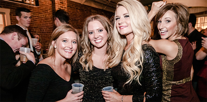 The Black Party- Kansas City's proven New Year's Eve destination for over a decade.