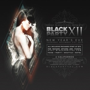 Black Party Kansas City New Years Eve
